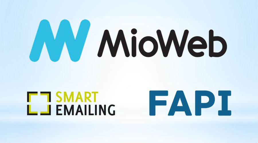 Tvorba webu, MioWeb, SmartEmailing, FAPI