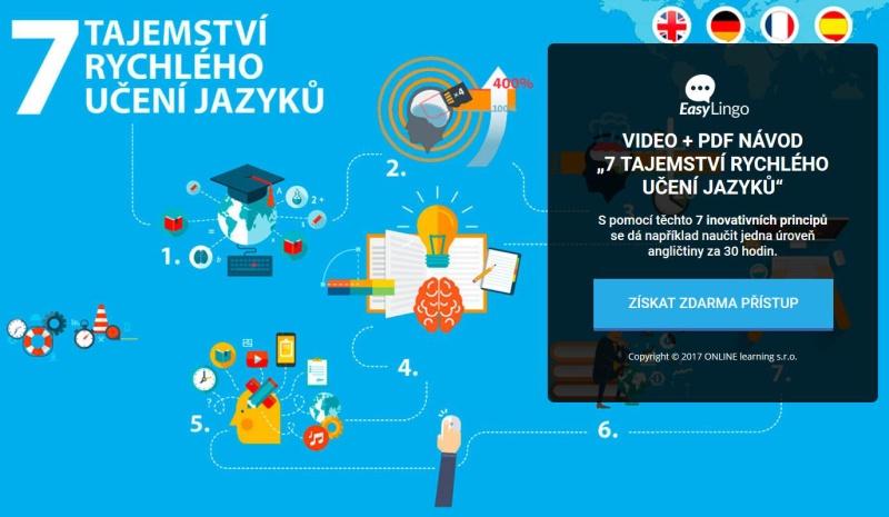 EasyLingo, Online jazyky, Anglicky za 30 hodin?