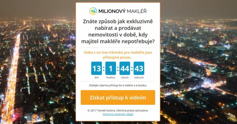 Tomáš Kučera, Milionový makléř, Jak podnikat jako realitní makléř?